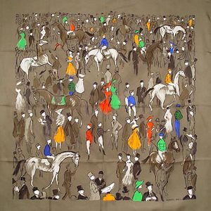 Michael Tonello eBay the new Canal Street Hermes Silk Scarf Ebay