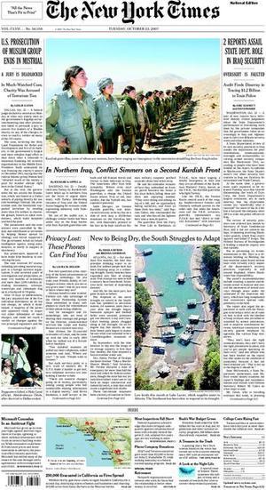 2007-10-23-NYTfrontnofire.jpg