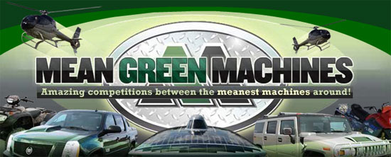 planet green mean green machines photo