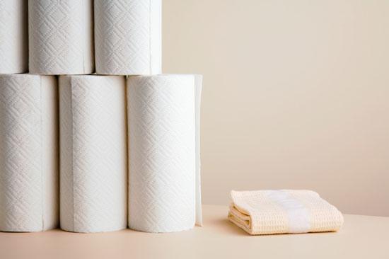 paper towel dish towel photo