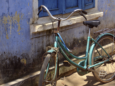 cycling in Israel old bikes bicycles image