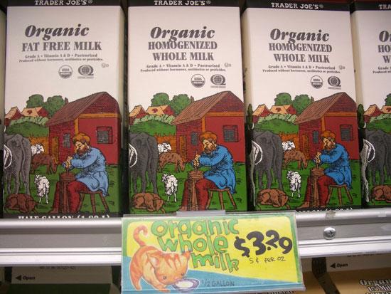 organic milk photo