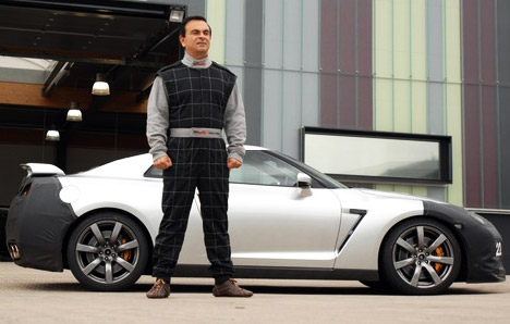 Nissan Carlos Ghosn photo