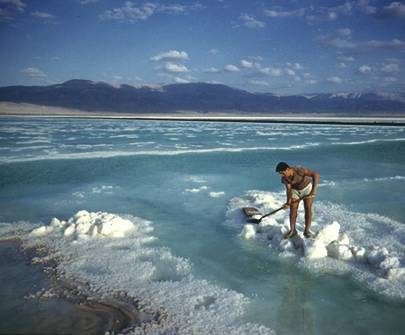 dead sea salt crystals are beautiful image