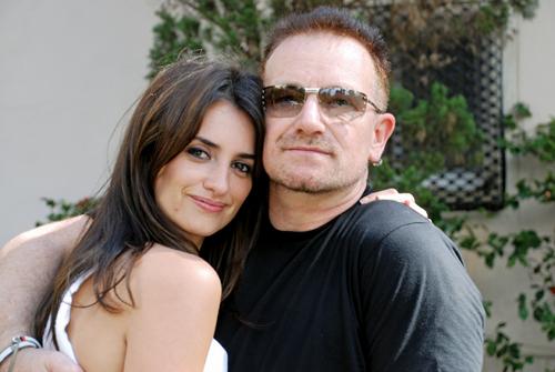 penelope cruz vanity fair. Penelope Cruz and Bono