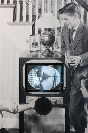 vintage tv photo