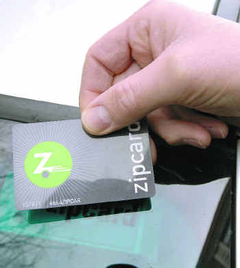 card zipcar photo