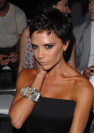 victoria beckham haircut. Victoria Beckham, never one to