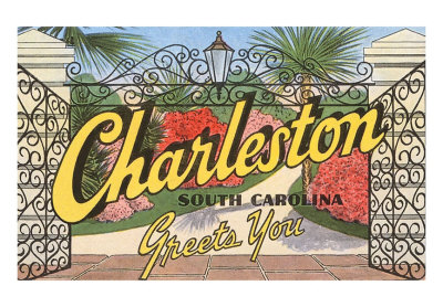 charleston postcard image
