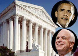 Obama would direct EPA to regulate greenhouse gases under the Clean Air Act, his adviser has said; what would McCain do?