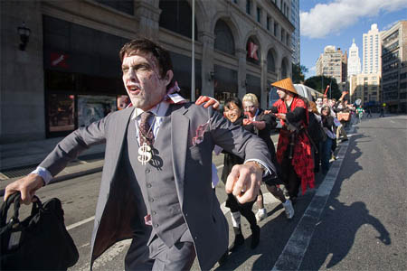 Zombie I-Bankers take over Wall Street | HuffPost