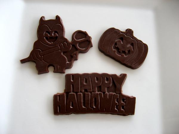 halloween chocolates photo