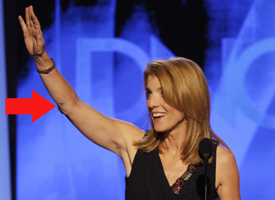Caroline Kennedy's Tattoo Debate: Revealed Or Removed?