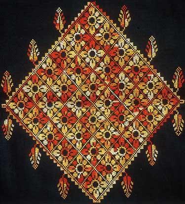 Bedouin pillow cover lakia
