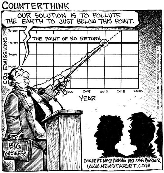 government pollution comic photo