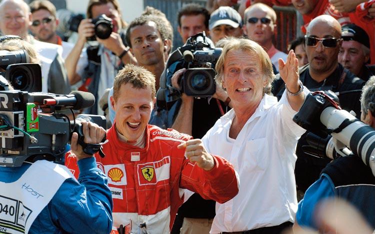 michael schumacher wife. world Michael Schumacher