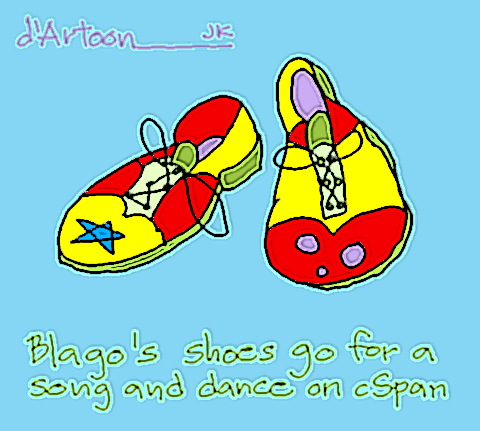 Running Shoes Cartoon
