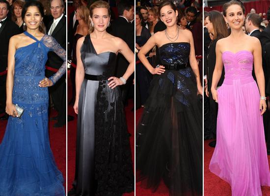 Oscar Gowns: The Best,...