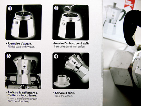 bialetti directions photo