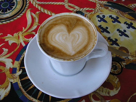 heart coffee italian espresso photo
