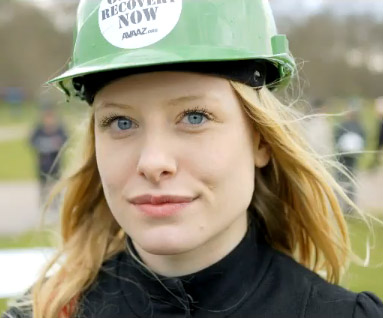 Green Hard Hats at the London G20