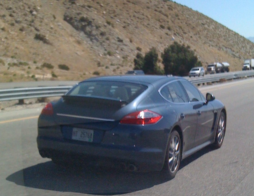 Huff Post Exclusive Porsche Panamera Sedans Take On Southern