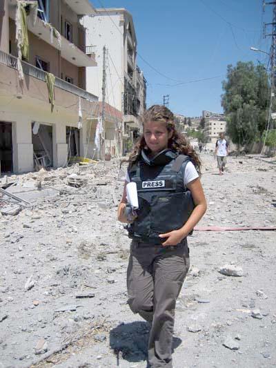 2009-04-19-RimaMaktabicoveringIsraels2006WaronLebanonAlArabiya.jpg