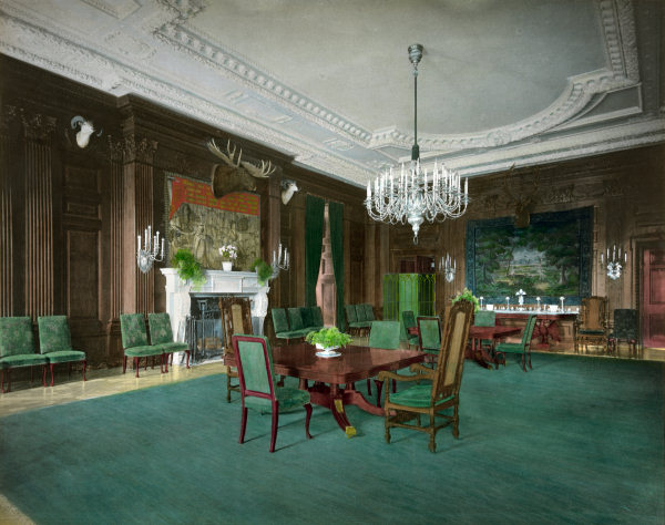 Margret Truman Room In The White House
