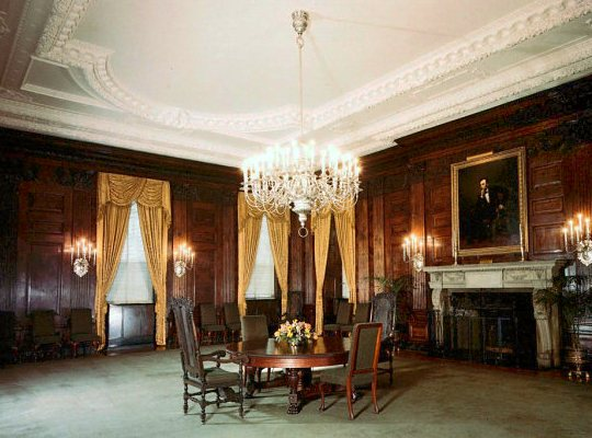 Margret Truman Room In The White House