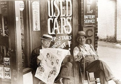 Image result for                                                  vintage used car lots