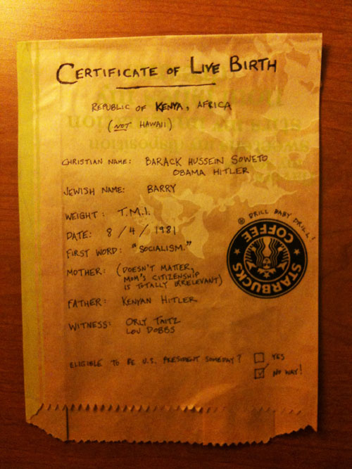 obama birth certificate kenya