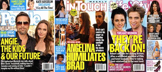 Sarah Palin Divorce, Britney Diet, Jolie-Pitt Face-off: It's