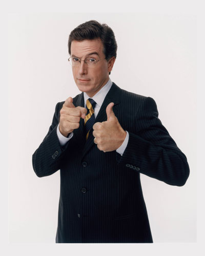 Colbert is the man
