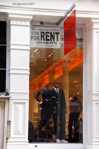 Soho For Rent Sign