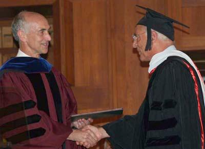 2009-09-11-FaroukElBazreceiveshonorarydoctoratefromAUBPresidentPeterDormanAbFadil.jpg