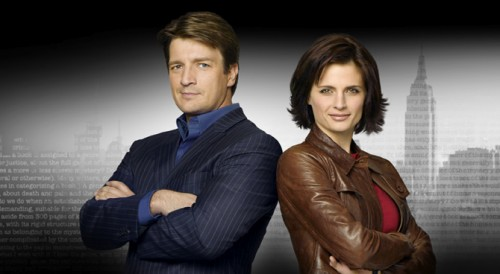 stana katic hot. Nathan Fillion and Stana Katic