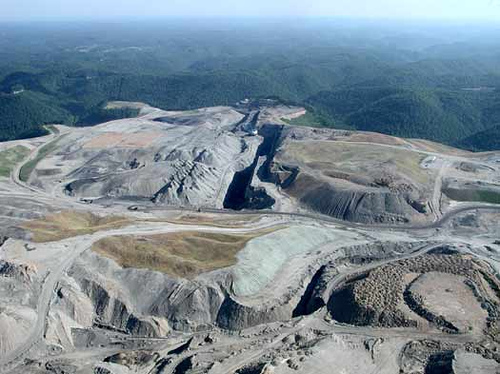 Mountaintop Removal Site