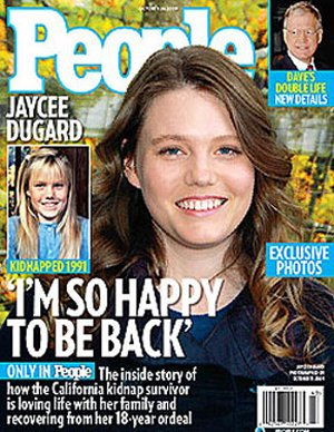 Jaycee Dugard's smiling adult face is everywhere this week.