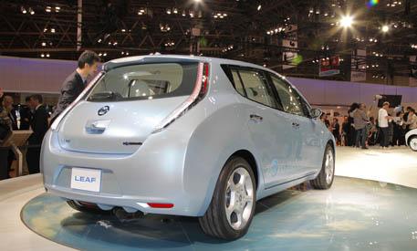 Nissan Leaf Tour Portland