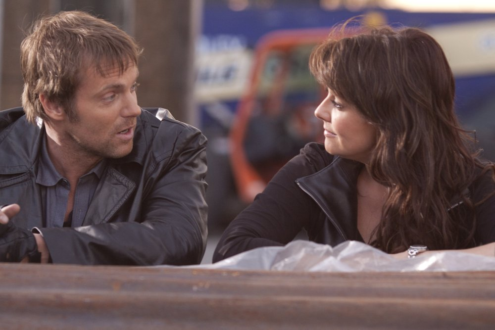 Michael Shanks and Amanda