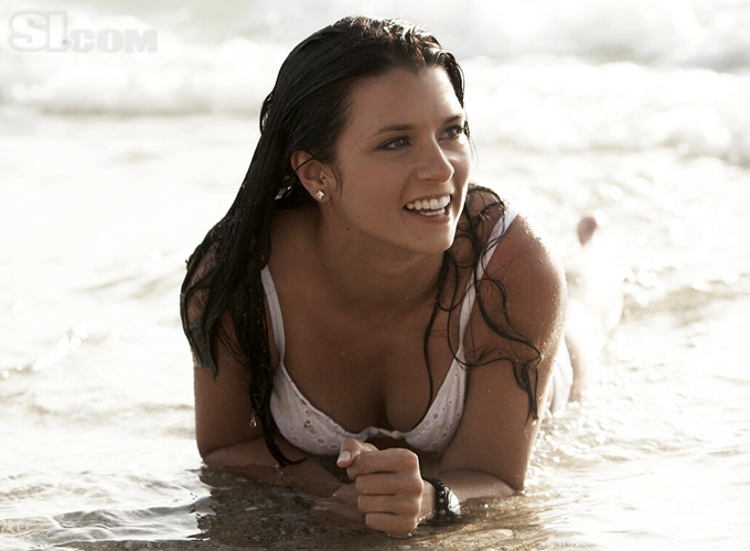 danica patrick swimsuit calendar. Patrick Large gallery of