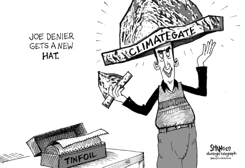 "Joe Denier gets a new ""climategate"" hat"