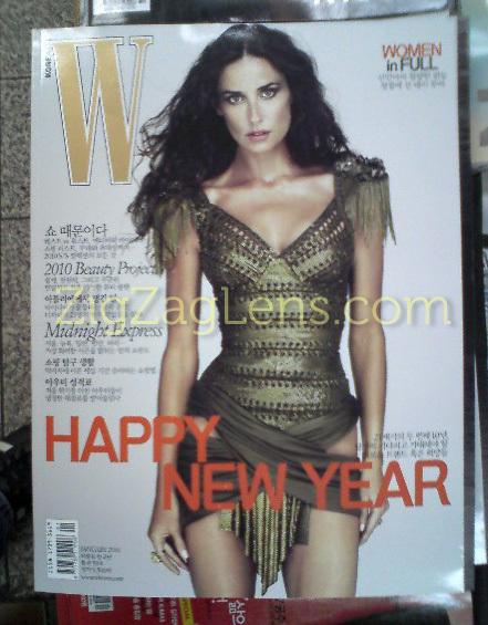 W Magazine Korea, January 2010