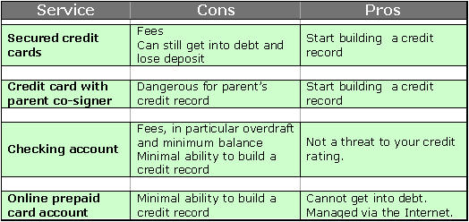 pro and cons of credit card essay