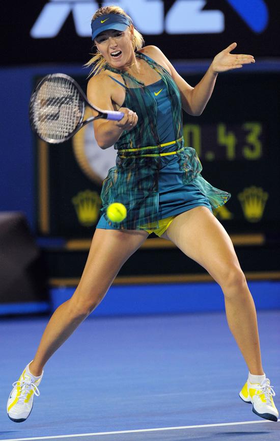 22e60cc2b1f6 Maria Sharapova s Australian Open Dress  Hit Or Miss  (PHOTOS
