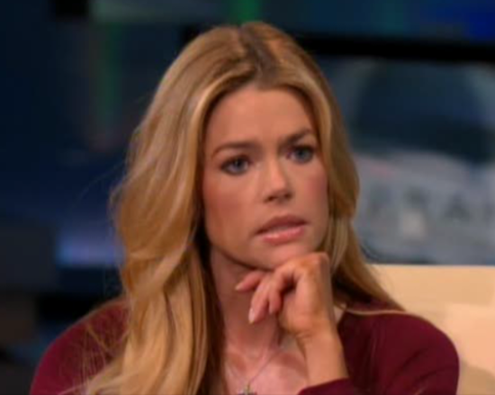 Understand Denise richards nude spray tan sorry, that