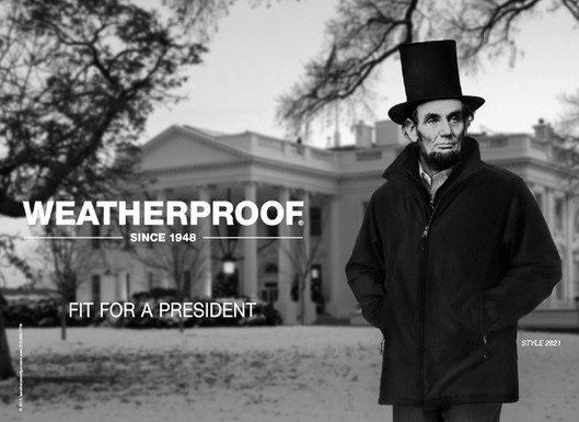 Lincoln Replaces Obama As Face Of Weatherproof Huffpost