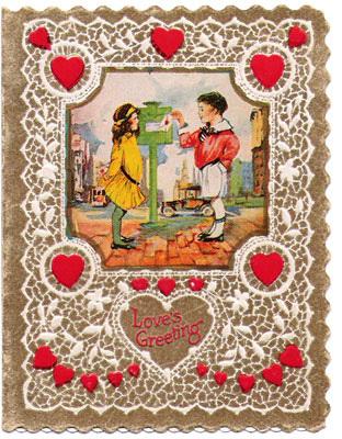 VINTAGE VALENTINE CARDS - VINTAGE COWGIRL BOUTIQUE