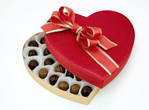 An Adorable Looking Chocolate Box For Your Sweetheart.