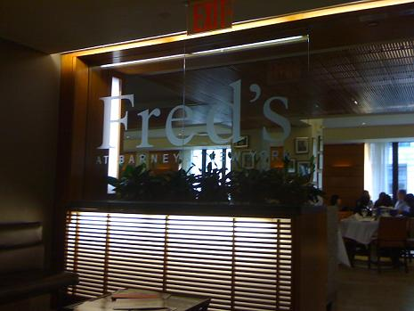 Fred S At Barneys Restaurant